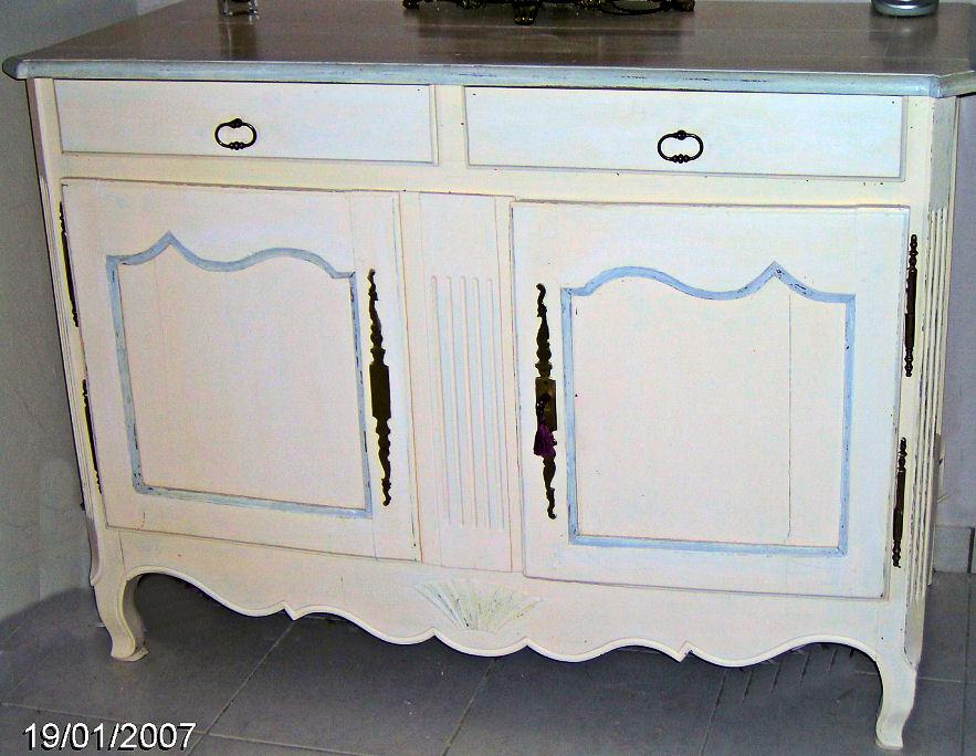 Meubles peints Peinture sur meuble vernis